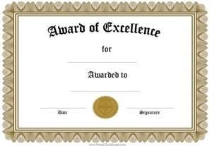 Award certificates template certificate templates teacher printable