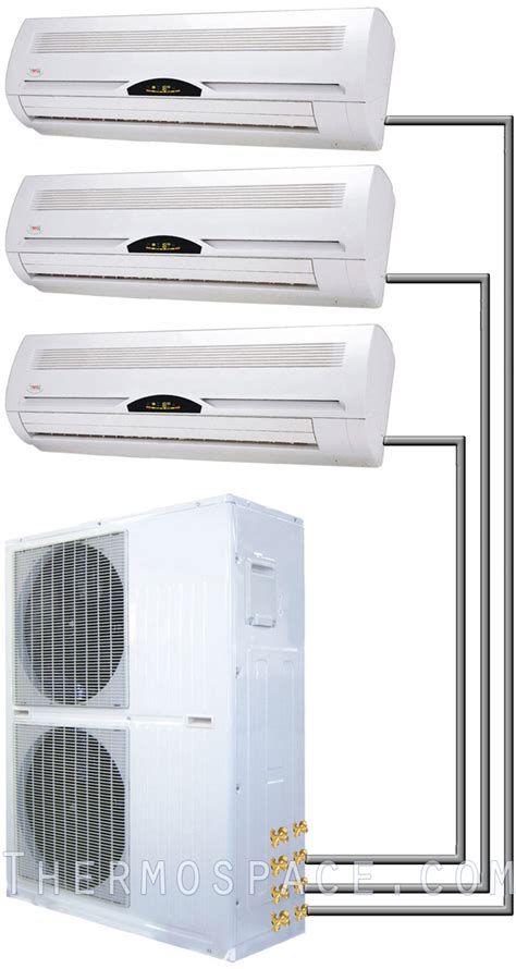 ductless mini split air conditioner 36000 btu tri zone ductless mini split air conditioner 3 ton