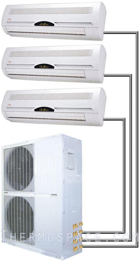 Ac Lg Mini 36000 btu tri zone ductless mini split air conditioner 3 ton