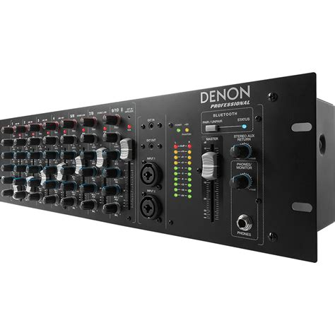 Audio Mixer Linkmaster 12 Channel 12 Ch Mono denon dn 410x rackmount mixer with bluetooth 10 channel