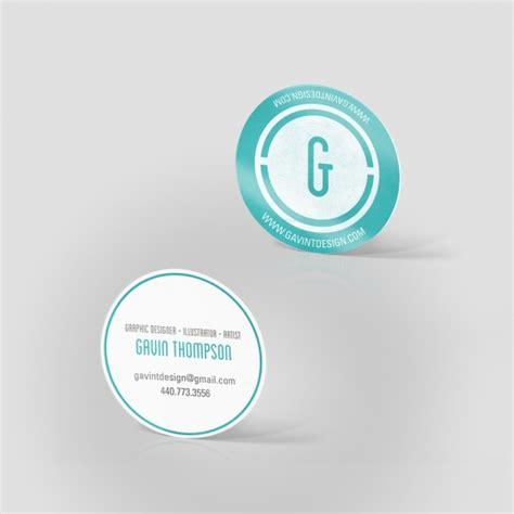 2 quot circle business cards jakprints inc