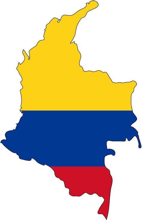 columbia colors colombia map flag colors traveling in colours
