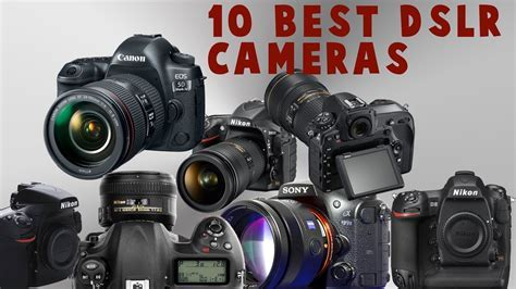 Top 10 Best DSLR Camera   2018/2019   YouTube