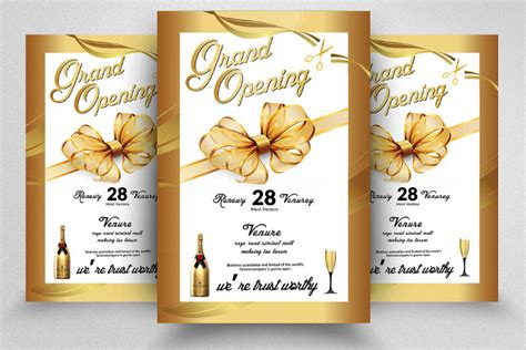 grand opening invitation template free 14 restaurant grand opening invitation designs