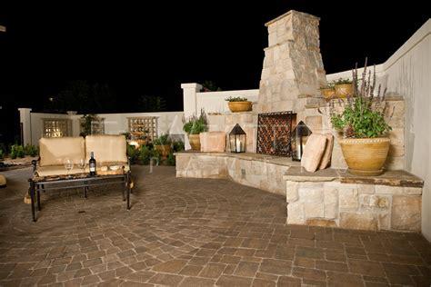 Outdoor Fireplace San Diego by Belgard Dublin Gallery San Diego Western Pavers Installers