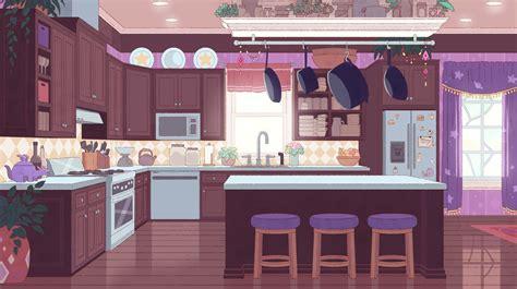 kitchen cartoon kitchen background cartoon