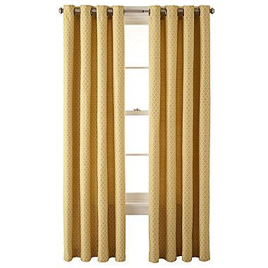 jcpenney discontinued curtains cheap jcpenney home rory grommet top curtain panel review window treatments 2015