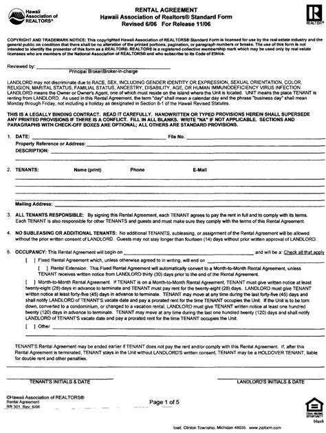 standard commercial lease agreement template best photos of standard commercial lease agreement