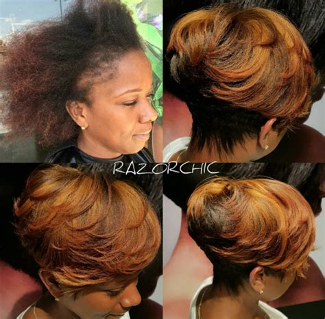 hair weaves styles to cover bald front another amazing transformation by razorchicofatlanta