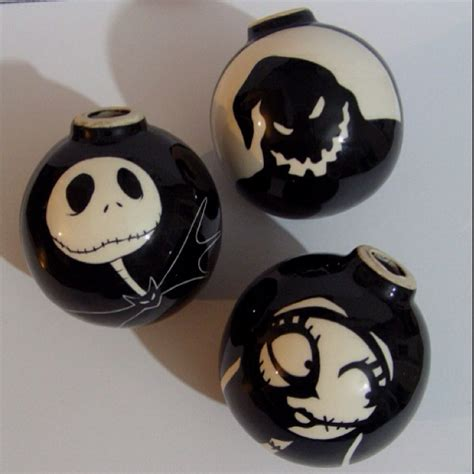 the nightmare before ornaments my nightmare before tree balls