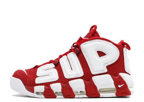 Nike Uptempo Supreme air more uptempo quot supreme quot nike 902290 600 varsity white flight club