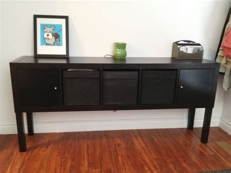 expedit sofa table expedit lack sideboard inspiration gt diy pinterest