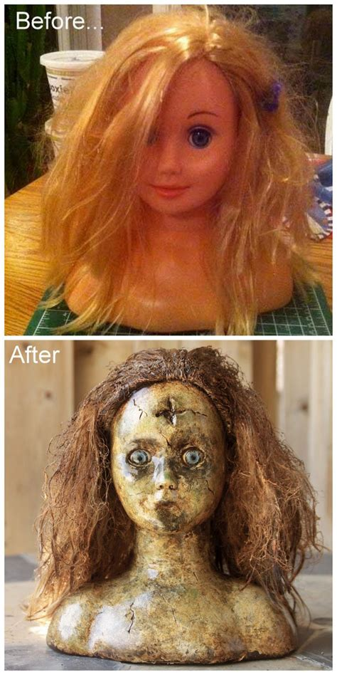 Which Is The Best Hair Style Doll Heads by 161 Best Creepy Doll Heads Images On Doll