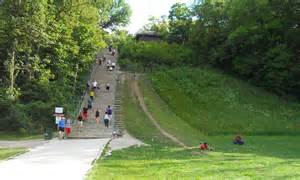 Swallow Cliff Stairs Address by Swallow Cliff 4 5 Mile Hike Chicago Hiking Outdoors