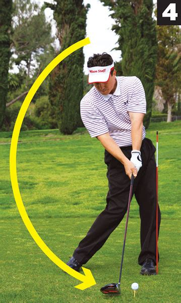 power triangle golf swing drive time golf tips magazine