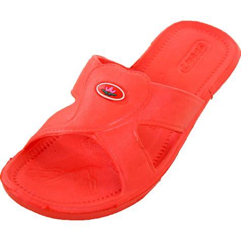 shower shoes womens cross sandals slip on slides shower shoes