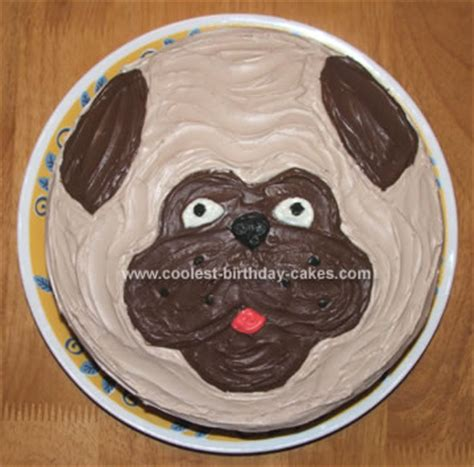 black pug cake coolest pug cake