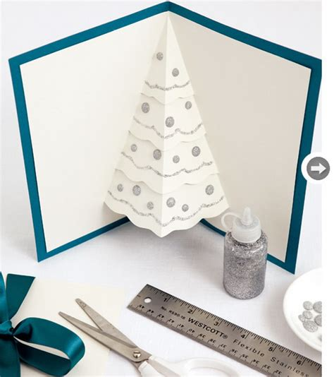 pop up tree card template pop up tree card 4