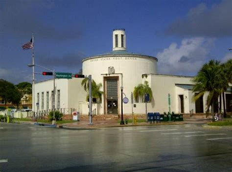 Post Office Miami by Us Post Office Picture Of The Official Deco Walking