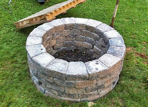 building fire pit in backyard backyard fire pit 187 photo gallery backyard