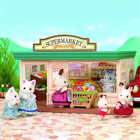 Sylvanian Families Original Supermaket sylvanian families supermarket sf5049 new ebay