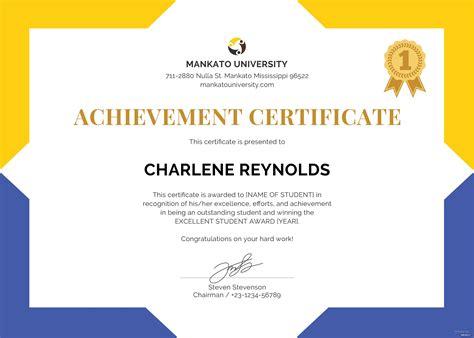 Free School Certificate Template In Microsoft Word Microsoft Publisher Adobe Illustrator Certificate Template