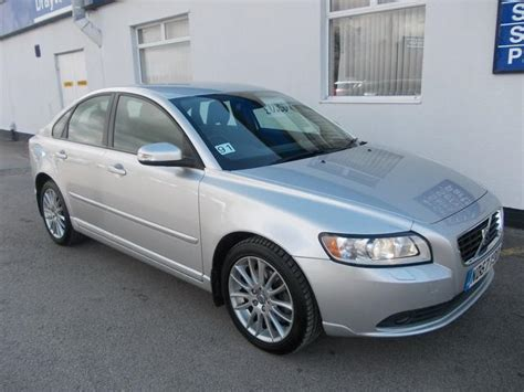 how cars engines work 2007 volvo s40 user handbook used volvo s40 2007 silver paint diesel 2 0d se lux 4dr saloon for sale in wirral uk autopazar
