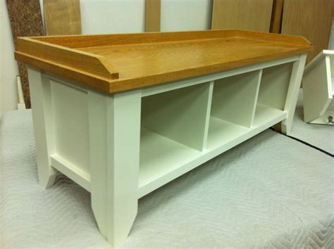 designer bench entryway storage benches design stabbedinback foyer