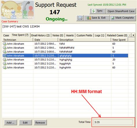 Date Format Hh Mm Mysql | team helpdesk for outlook and sharepoint what s new in