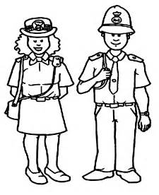 officer coloring pages free to cop coloring pages