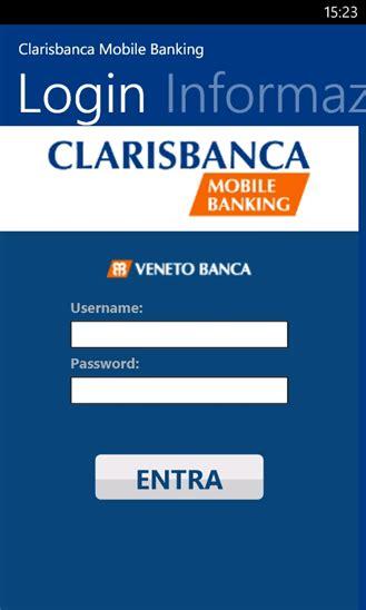 veneto clarisbanca clarisbanca mobile banking l app di veneto e