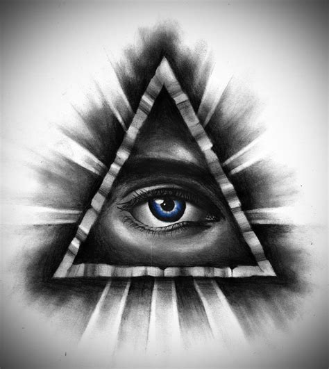 all tattoo design design all seeing eye by badfish1111