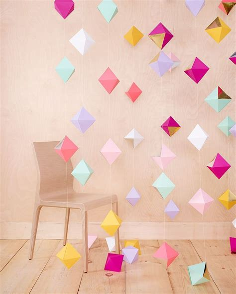 How To Make Paper Decorations For Birthday - 25 best ideas about paper decorations on