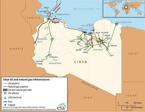 libya on the world map maps