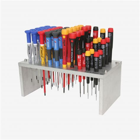 bench tools precision screwdriver stand tool holder and organizer