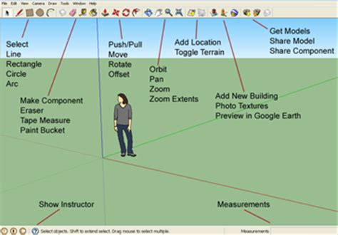 sketchup layout toolbar sketchup workspace graphic design courses