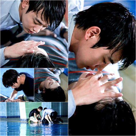 film korea romantis lee minho f x s sulli and shinee s minho film cpr kiss scene soompi
