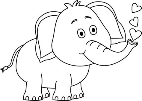 color sweet animals a grayscale coloring book books white elephant clip many interesting cliparts