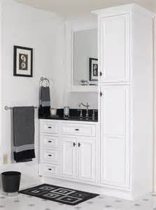Bathroom Cabinet White Bathroom Vanities Cabinets Decosee