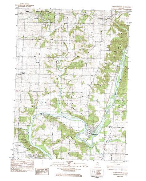 grand il map grand detour topographic map il usgs topo 41089h4
