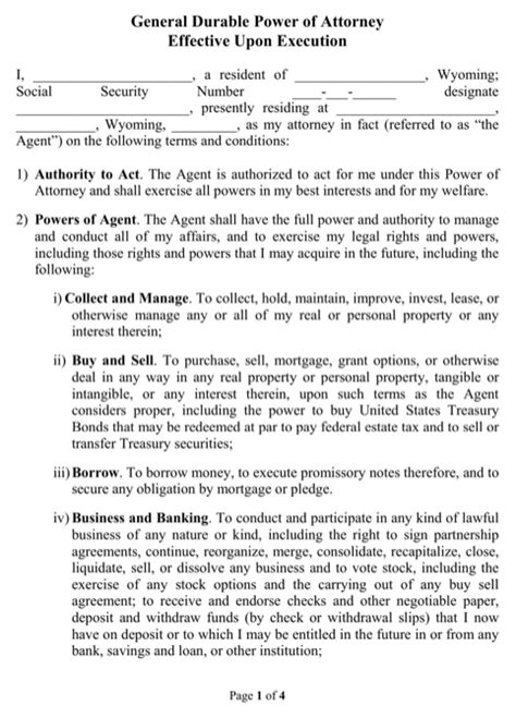 section 10 powers of attorney act 1971 download wyoming power of attorney form for free