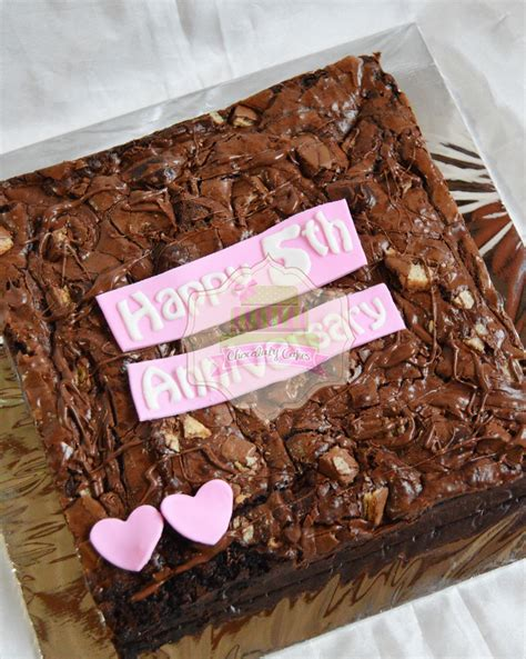 Coffee Toffee Pamulang nutella kit brownies for anniversary