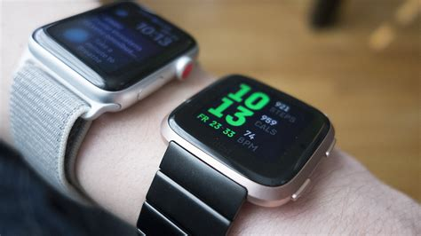 Fitbit Versa Vs Apple Series 4 by Fitbit Versa Vs Apple Series 1 Which Budget Smartwatch Is Right For You Macworld