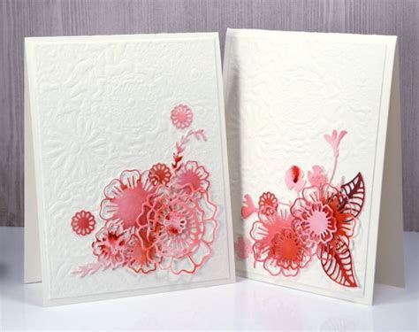 Handmade Die Cut Cards - 709 best images about cards with die cuts on