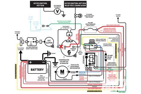 c10 alternator wiring harness diagram get free image
