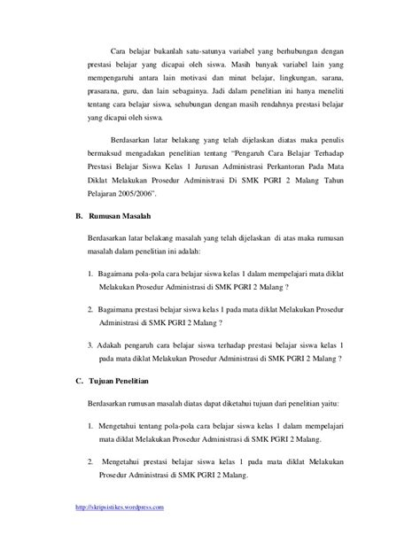 mitrarisetcom contoh skripsi tesis 4 contoh proposal skripsi 24 penyebab kerusakan komputer