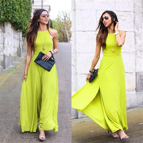 Sheena Maxi Dress Turban jyotsna chartreuse maxi dress lookbook