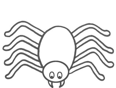 free spider colour coloring pages spider to colour in coloring part 4