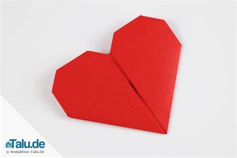 origami herz origami herz aus papier falten anleitung talu de