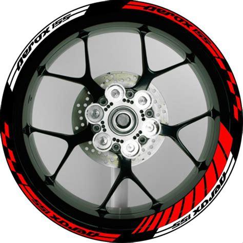 jual stiker velg motor wheels sticker aerox  motogp